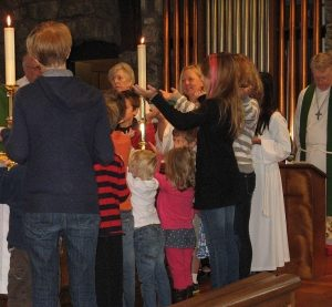 Children Attending The Sabbath