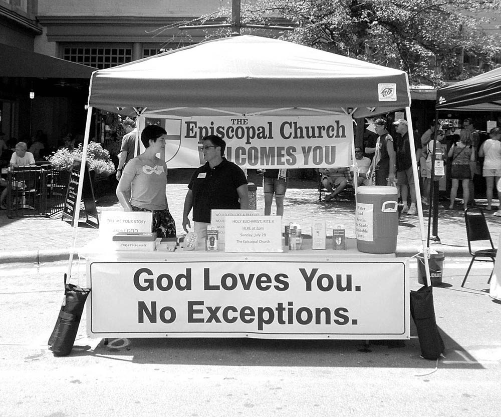Church Booth In North Asheville