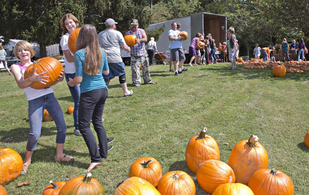 Outreach Pumpkins Being Sold To Help The Less Fortunatne